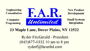 F. A. R. Unlimited Business Card