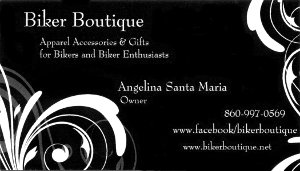 Biker Boutique Business Card