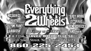 Everything 2 Wheels Business Card