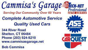 Cammisa's Garage Business Card