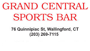 Grand Central Sports Bar Business Card