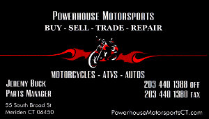 Powerhouse Motorsports Business Card