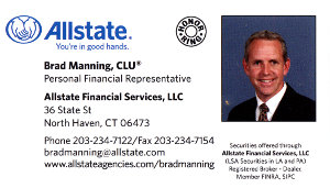 Allstate Insurance Business Card