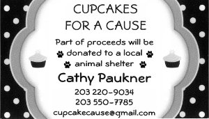 Cupcakes for a Cause Business Card