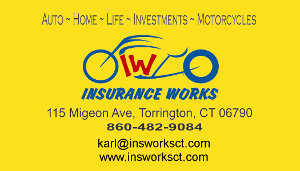 Insurance Works of CT Business Card