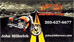 Biker Wax Business Card