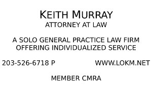 Law Office of Keith Murray Business Card