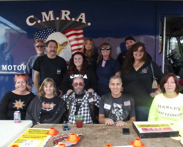 Some of the CMRA crew